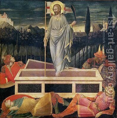 The Resurrection of Christ by di Cristofano Mariotto - Reproduction Oil Painting