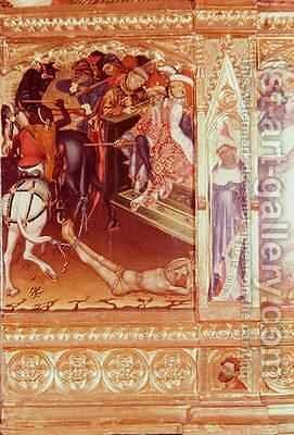 St George altarpiece by Andres Marcal de Sas - Reproduction Oil Painting