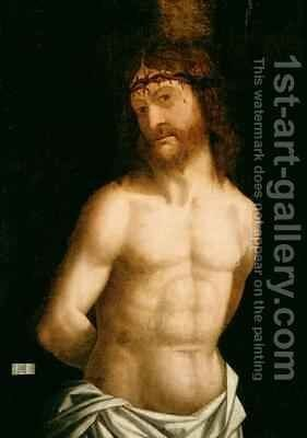 Ecce Homo 1474 by (after) Mantegna, Andrea - Reproduction Oil Painting