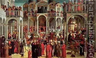 Episodes from the Life of Saint Mark by Giovanni di Niccolo Mansueti - Reproduction Oil Painting