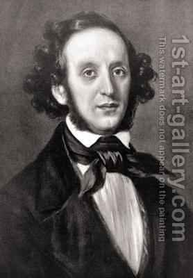 Felix Mendelssohn by (after) Magnus, Eduard - Reproduction Oil Painting