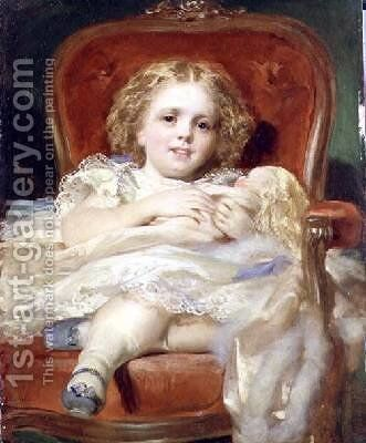 My Little Dolly by Daniel Macnee - Reproduction Oil Painting