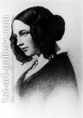 Catherine Dickens 1848 by (after) Maclise, Daniel - Reproduction Oil Painting