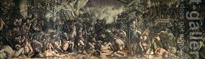 The Death of Nelson 1863-65 by Daniel Maclise - Reproduction Oil Painting