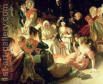 Snapp Apple Night 3 by Daniel Maclise - Reproduction Oil Painting