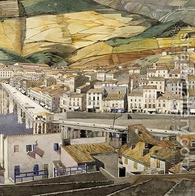 Port Vendres 1856 by Charles Rennie Mackintosh - Reproduction Oil Painting