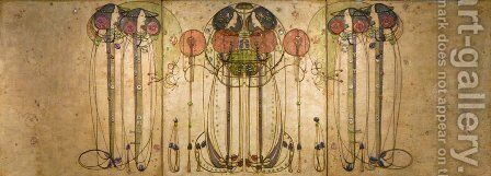 The Wassail 1900 by Charles Rennie Mackintosh - Reproduction Oil Painting