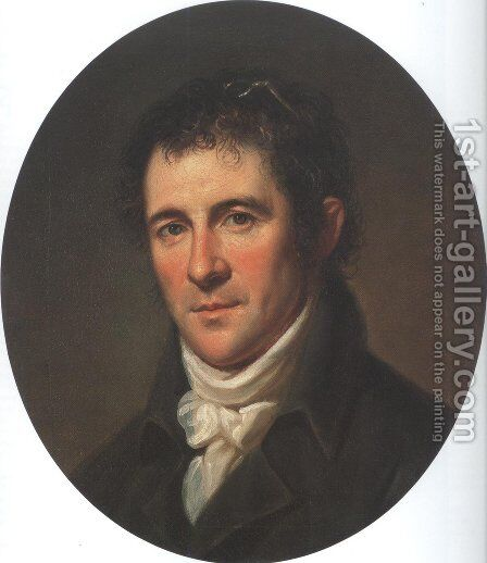 Benjamin Henry Latrobe 1804 by Charles Willson Peale - Reproduction Oil Painting