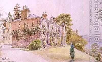 Brantwood Cumbria home of John Ruskin 1880 by Alexander Macdonald - Reproduction Oil Painting