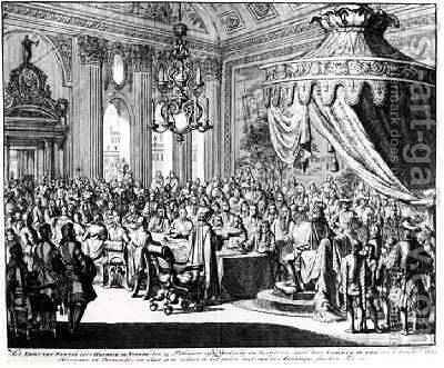 Revocation of the Edict of Nantes on 22nd October 1685 by Jan Luyken - Reproduction Oil Painting