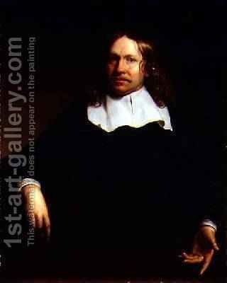 Portrait of a gentleman by Isaac Luttichuys - Reproduction Oil Painting