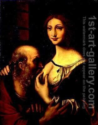 Charity by Bernardino Luini - Reproduction Oil Painting
