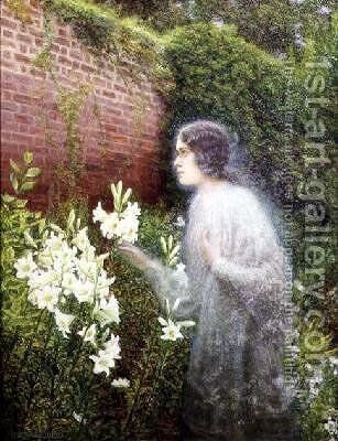 The Spirit of Purity by Edward George Handel Lucas - Reproduction Oil Painting