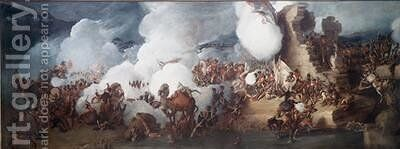 The Battle of Alexandria 21st-22nd March 1801 by (after) Loutherbourg, Philippe de - Reproduction Oil Painting