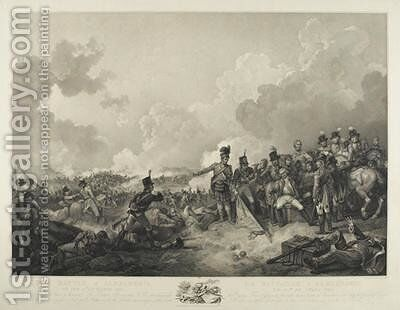 The Battle of Alexandria by (after) Loutherbourg, Philippe de - Reproduction Oil Painting