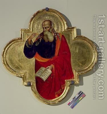 St John by Bicci Di Lorenzo - Reproduction Oil Painting