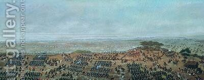 Pasaje del Ayui por el paso Ayala from the paintings depicting the Triple Alliance War 1865 by Candido Lopez - Reproduction Oil Painting