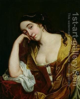 Melancholy by Jacob van Loo - Reproduction Oil Painting