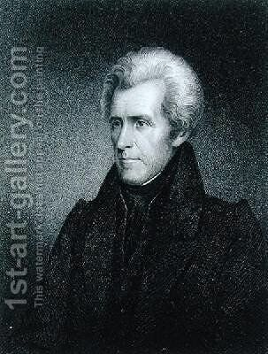 Andrew Jackson by James Barton Longacre - Reproduction Oil Painting