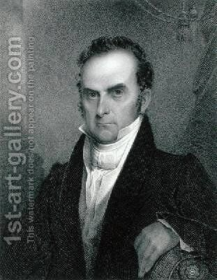 Daniel Webster 1782-1852 by James Barton Longacre - Reproduction Oil Painting
