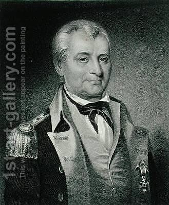 General Lachlan McIntosh 1727-1806 by (after) Longacre, James Barton - Reproduction Oil Painting