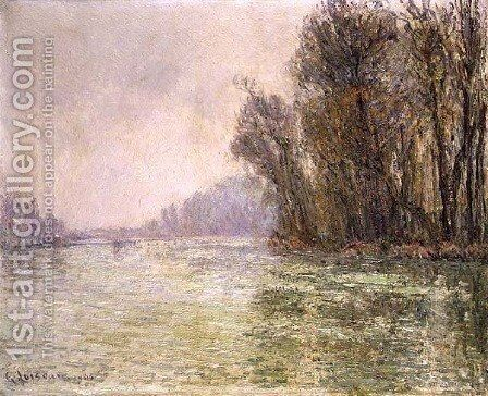 The Oise in Winter 1906 by Gustave Loiseau - Reproduction Oil Painting