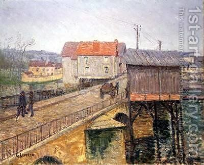 The Bridge at Moret by Gustave Loiseau - Reproduction Oil Painting