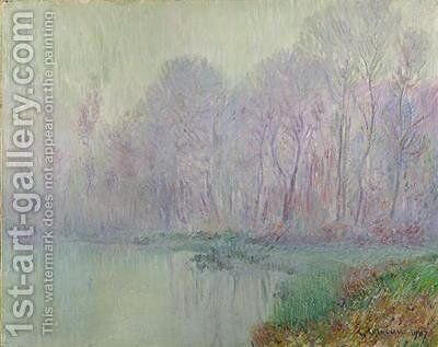 Morning Mist 1907 by Gustave Loiseau - Reproduction Oil Painting