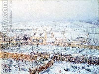 Valley of the Seine 1898 by Gustave Loiseau - Reproduction Oil Painting