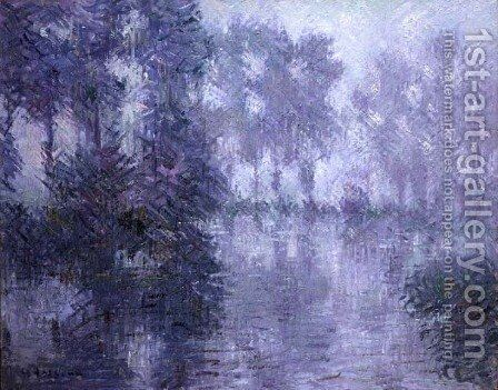 The Banks of the Eure by Gustave Loiseau - Reproduction Oil Painting