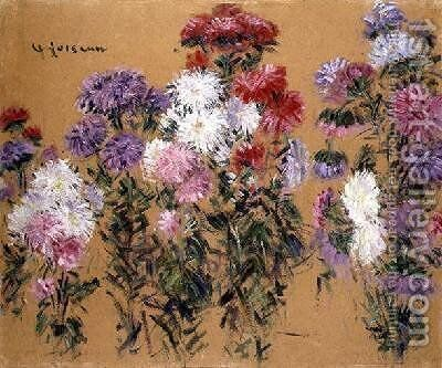 Flowers 1931 by Gustave Loiseau - Reproduction Oil Painting