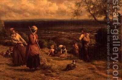 The Haymakers 1862 by James Thomas Linnell - Reproduction Oil Painting