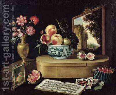 The Five Senses 1638 by Jacques Linard - Reproduction Oil Painting