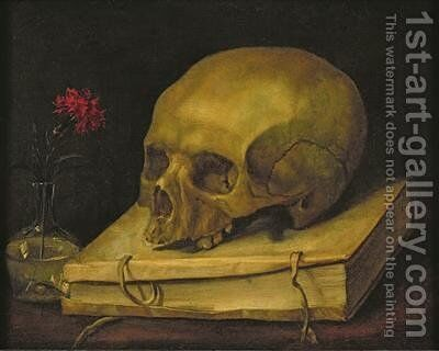 Vanitas 1644 by Jacques Linard - Reproduction Oil Painting