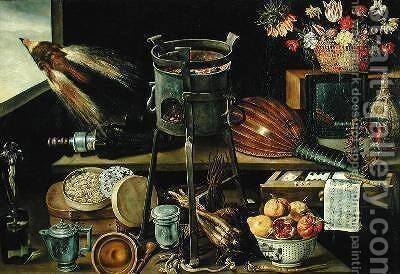 The Five Senses 1638 2 by Jacques Linard - Reproduction Oil Painting