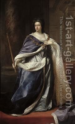 Queen Anne 1703 by Edmund Lilly - Reproduction Oil Painting