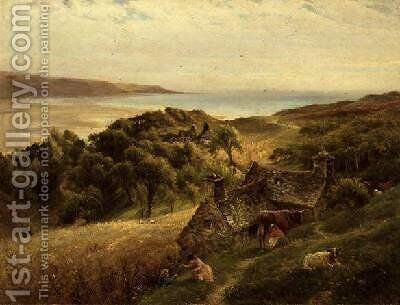 Gorllwyn Barmouth by Charles James Lewis - Reproduction Oil Painting