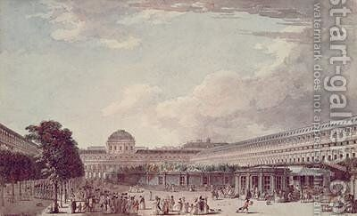 Le Palais Philippe Egalite Le Palais Royal by Jean Lespinasse - Reproduction Oil Painting