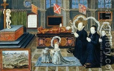 The Memorial of Lord Darnley by Bernard III Lens - Reproduction Oil Painting