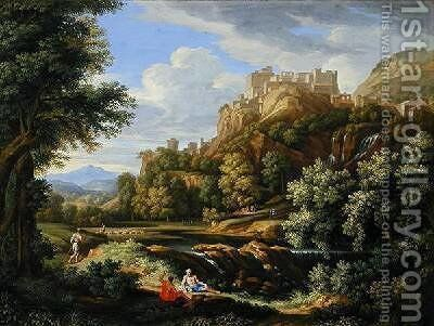 Classical Landscape by Bernard III Lens - Reproduction Oil Painting