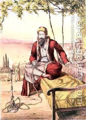 A Jewish Merchant by (after) Lennep, H.J. van - Reproduction Oil Painting