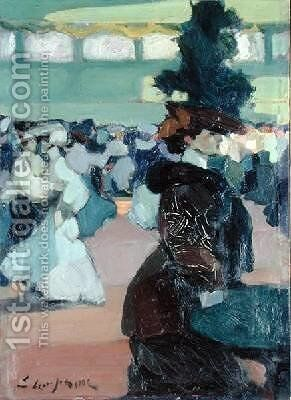 Bar Tabarin by Edmond Lempereur - Reproduction Oil Painting