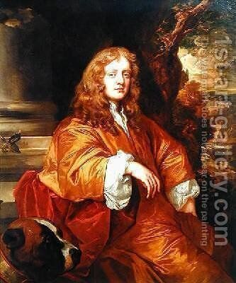 Sir Ralph Bankes by Sir Peter Lely - Reproduction Oil Painting