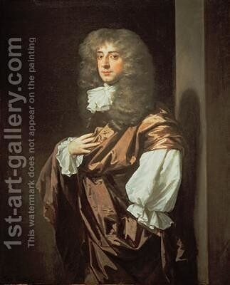 Portrait of Sir Thomas Thynne 1640-1714 by Sir Peter Lely - Reproduction Oil Painting