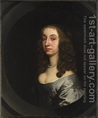 Portrait of a Lady by Sir Peter Lely - Reproduction Oil Painting