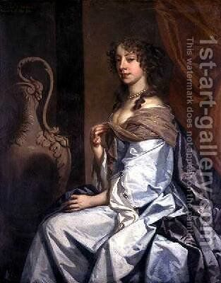 Portrait of Mary Bagot Countess of Middlesex and Dorset 1645-79 by Sir Peter Lely - Reproduction Oil Painting