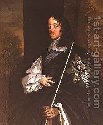 Thomas Wriothesley 1607-67 4th Earl of Southampton by Sir Peter Lely - Reproduction Oil Painting