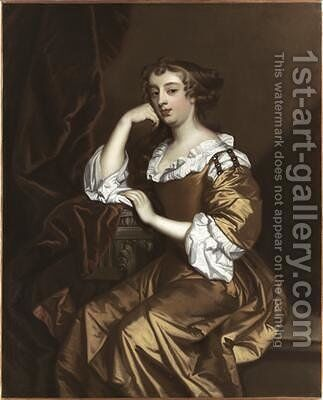 Portrait of Elizabeth Wriothesley 1668 by Sir Peter Lely - Reproduction Oil Painting