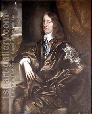 William 2nd Earl of Salisbury by Sir Peter Lely - Reproduction Oil Painting