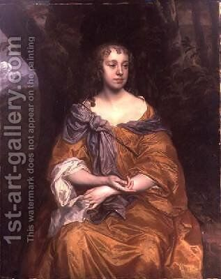 Miss Wharton by Sir Peter Lely - Reproduction Oil Painting